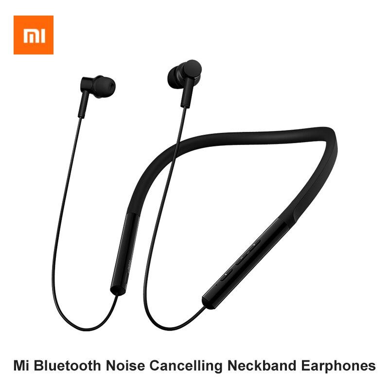 Xiaomi auriculares inalámbricos con banda para el cuello con cancelación de ruido V5.0 auriculares deportivos Bluetooth con micrófono