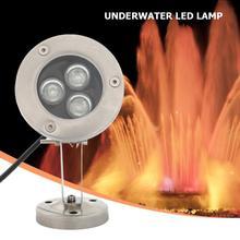 DC12V подводный светодиодный фонтан IP65 водонепроницаемый бассейн Пруд Лампа с хорошей пропускаемостью и равномерным освещением