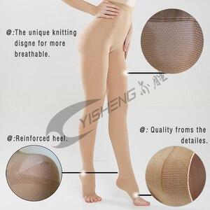 Image 2 - Yisheng collants de Compression médicaux, bas minces, 20 à 30 mmHg, pour femmes