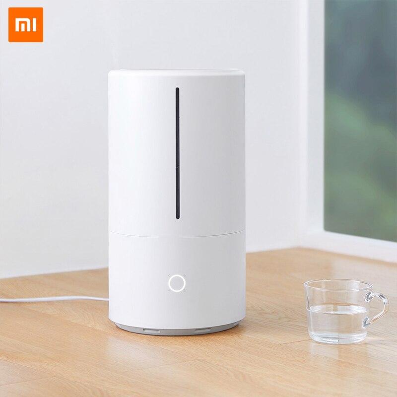 Xiaomi увлажнитель воздуха бытовой ультразвуковой диффузор MIJIA увлажнитель ароматерапия Humificador для офиса дома