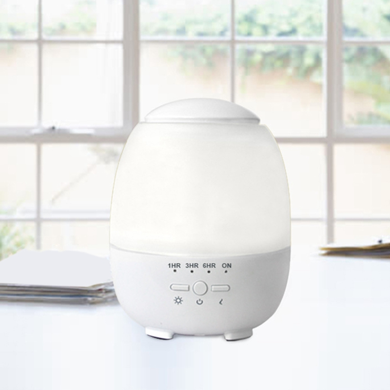 HOT!-Smart Wifi Wireless 300Ml Aroma Essential Oil Diffuser Air Humidifier Compatible With Alexa And Google Home Amazon Voice Co