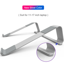 Universal 11-17 inch Laptop Stand Aluminum Alloy Notebook Stand Holder For Macbook Lapdesk Anti-slip Computer Cooling Bracket fashion laptop stands wooden stand for notebook holder with cooling function universal wood bracket for laptop