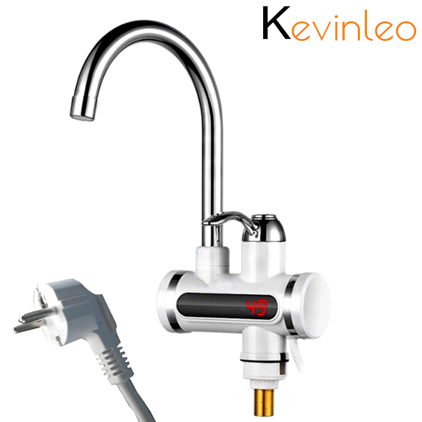 Water Heater Tankless 220V 110V 3000W Kitchen Instant Electric Faucet Hot Water Electric Fast Heater Tap обогреватель подогрев