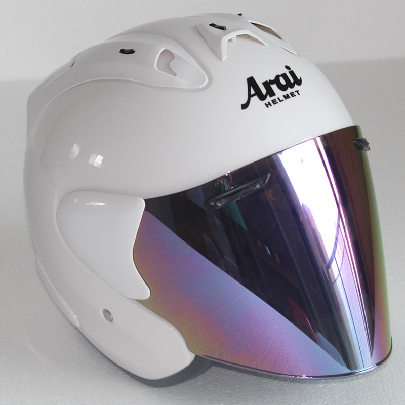 Motorcycle Half Helmet Men And Women Locomotive Racing Helmet Summer Light Half Helmet,Capacete