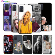 Silicone Cover Billie Eilish Hot Music Singer Star  for Huawei P40 P30 P20 Lite E Pro P Smart Z Plus 2019 P10 P9 Phone Case