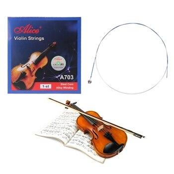 2021 nuove corde per violino Alice A703 per full size 1/8 1/4 1/2 3/4 4/4