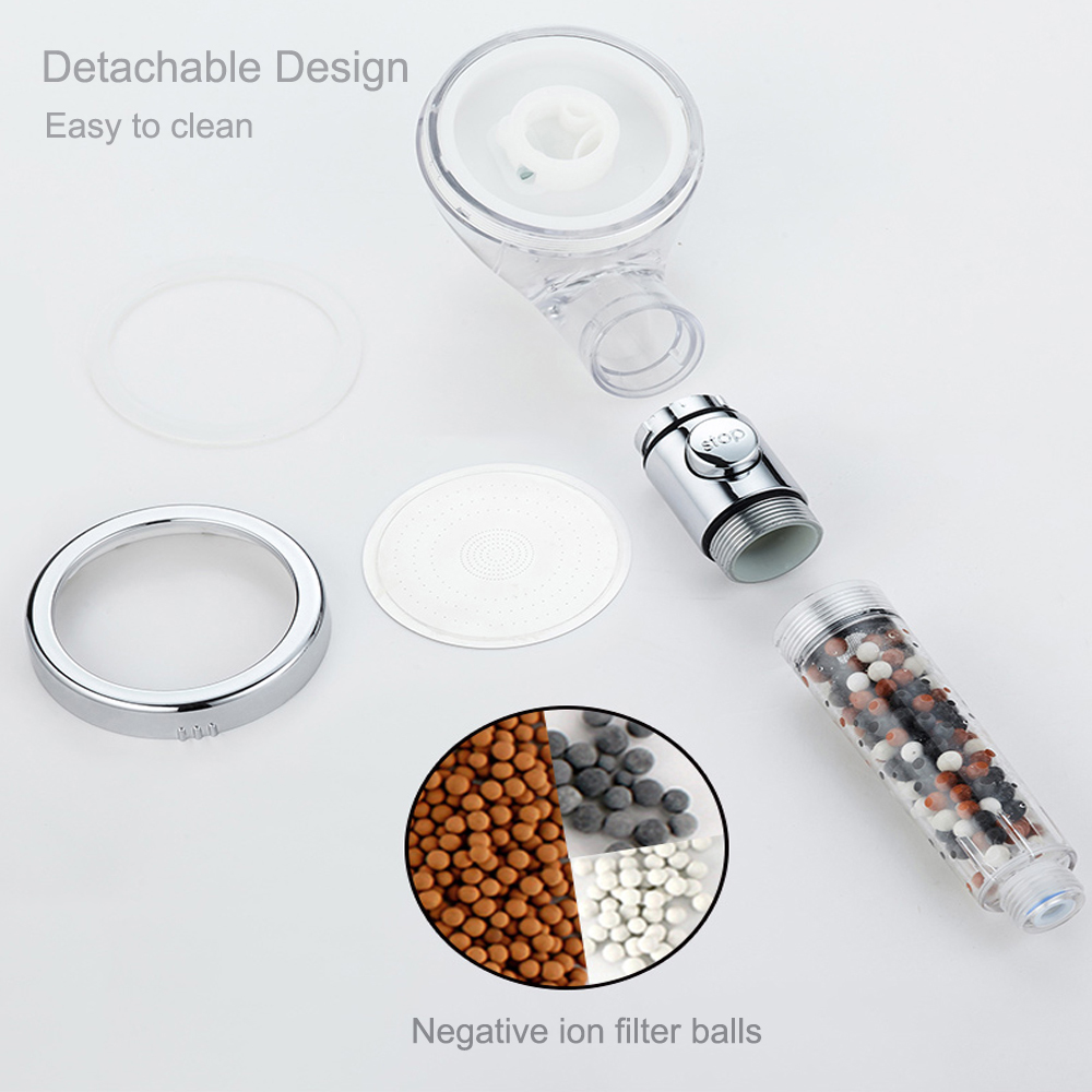 High Pressure Anion Hand Held Water Shower Filters Filter Element JB