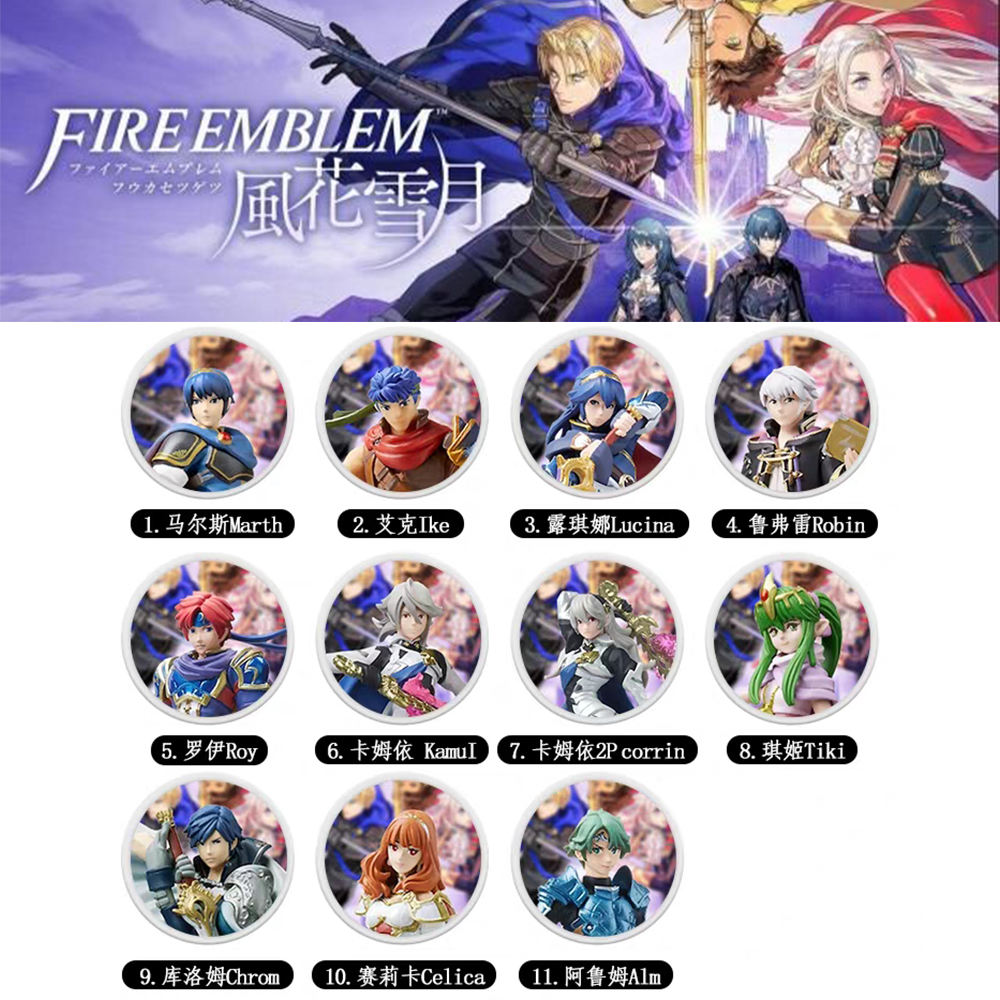 The Games Card Of Amiibo Compatible Fire Emblem: ThreeHouses  Zelda  NFC Round Card  NS Switch Super Odyssey