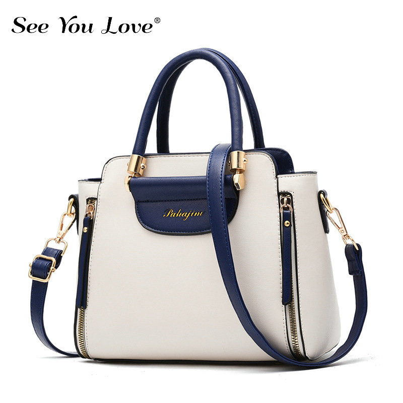 New Brand Female Crossbody Bags For Women 2019 Casual Soft Luxury Zipper Leather Women Handbags Ladies Messenger Shoulder Bags