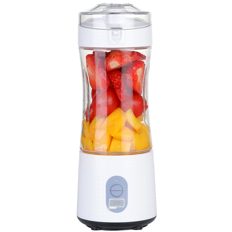 Portable Blender,Personal Size Blender For Smoothies And Shakes, Handheld Fruit Mixer Machine 13Oz USB Rechargeable Juicer Cup