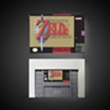Zeldaed의 전설 과거에 대한 링크 RPG 게임 카드 배터리 저장 미국 버전 소매 상자