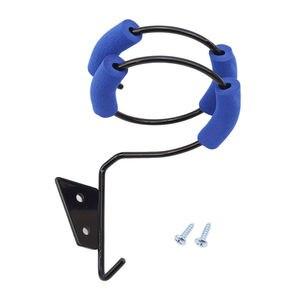 Спиральная подставка для фена, высокое качество, настенная стойка для хранения фена, плоский держатель для утюга, настенный держатель