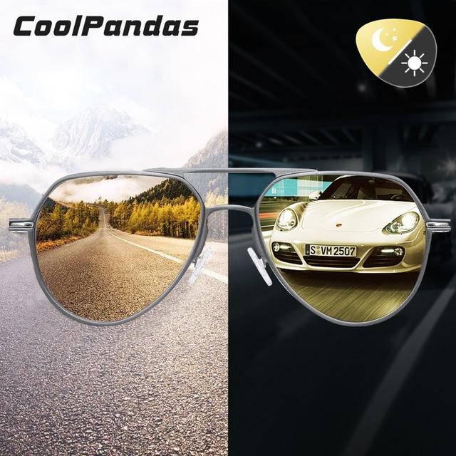 Gafas de sol fotocromáticas Unisex, lentes de sol polarizadas con visión nocturna de día, camaleón, para conducir, para hombre y mujer