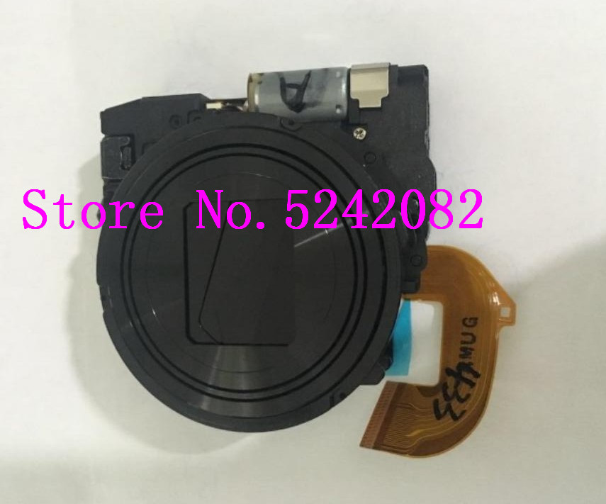 NEW <font><b>Lens</b></font> Zoom For <font><b>Sony</b></font> Cyber-shot DSC-WX300 WX300 DSC-<font><b>WX350</b></font> <font><b>WX350</b></font> Digital Camera Repair Part Black image