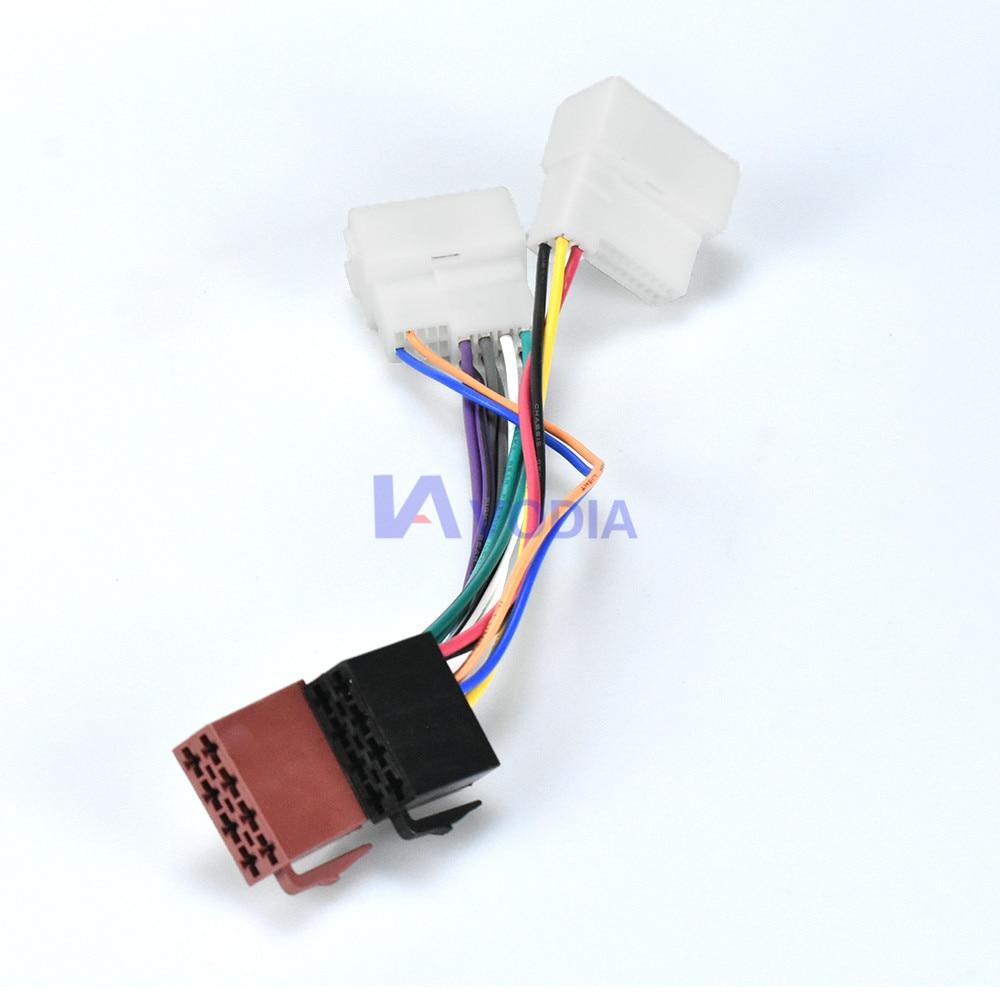/> ISO adaptador orginal autoradio hyundai//kia 2005
