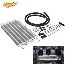 6 ряд Алюминий 305X190X20 Универсальный автоматический ручной радиатор конвертер/автомобильный радиатор трансмиссионного масла комплект TOC001