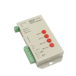 Image 2 - DC5~24V T 1000S 128G 256G RGB Controller T1000S SD Card APA102 WS2801 WS2811 WS2812B LPD6803 DMX512 LED 2048 Pixels Controller