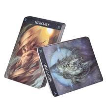 Barbieri zodiac oracle tarot 26 cartas baralho misteriosa orientação adivinhação destino