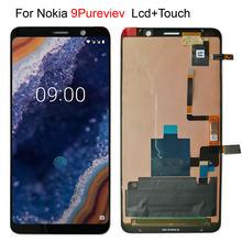 new lcd For Nokia 9 Pureview 9C TA 1004 TA 1005 Lcd Screen Display +Touch Glass Digitizer Assembly Replacement Parts
