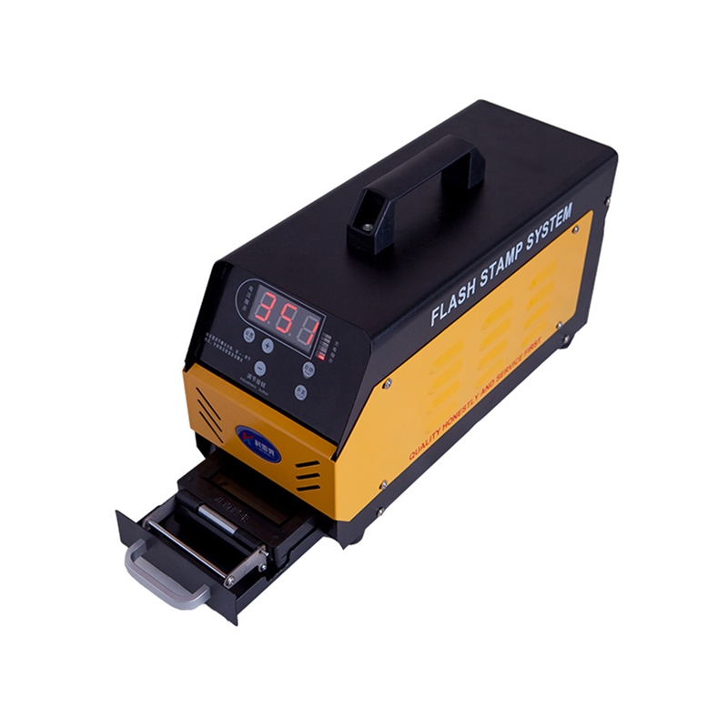 Tools : P30 Automatic Digital Photosensitive Seal Machine PSM Stamp Maker Flash Stamp System with Free Gift Pack