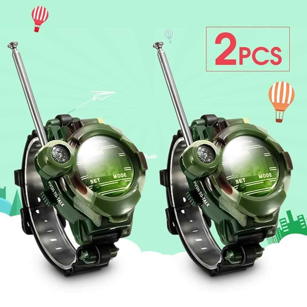 None 2Pcs 7 in 1 Kids Children Toys Girls Boys Watches Interphone Outdoor Games Toys 26*4*6cm