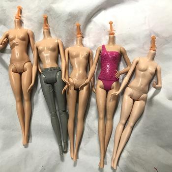 5 stawów ciało lalki 1 6 akcesoria BJD brązowa skóra 30cm części ciała lalki dla dzieci zabawki element ubioru tanie i dobre opinie MUQGEW CN (pochodzenie) Joints doll body cartoon Mini Model NONE Film i telewizja Jionts doll part only body for 30cm doll