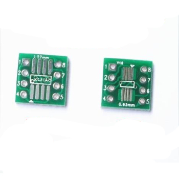 Adapter board SOP8 SSOP8 TSSOP8 patch to in-line DIP patch to in-line conversion board image