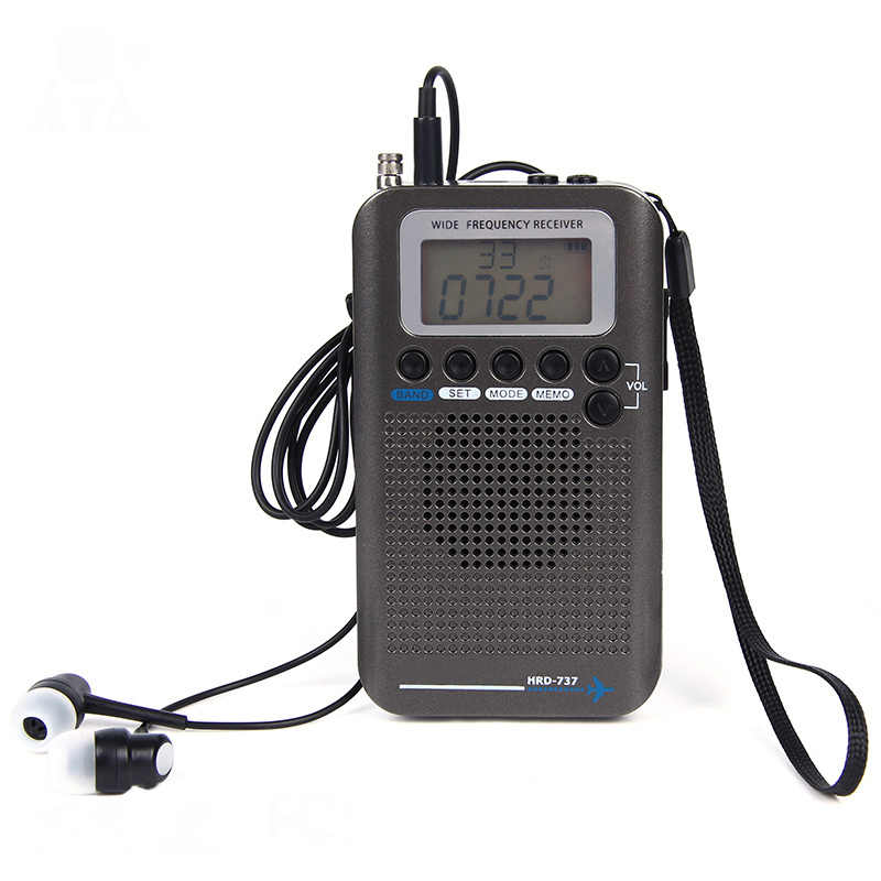 多機能フルバンドラジオ FM/AM/SW/空気/VHF 受信ポータブルラジオ AS99
