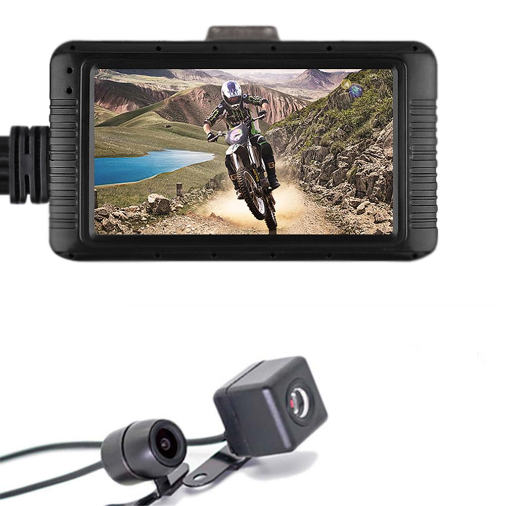 Driving Recorder Automobile Motorcycle 1080P HD Continuous-Recording-Function