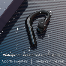Беспроводные Bluetooth-наушники erlies, супер-долгий режим ожидания, для работы, вождения, подвесные уши, мононауральные, спортивные, водонепроница...