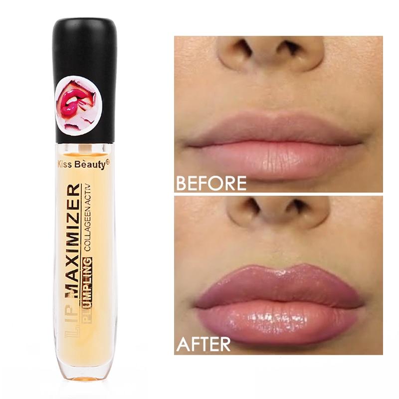 Instant Volumising Lip Plumper Moisturizing Enhancement Lip Repairing Reduce Lip Fine Lines Brighten Lip Color Lip Plumper Oil