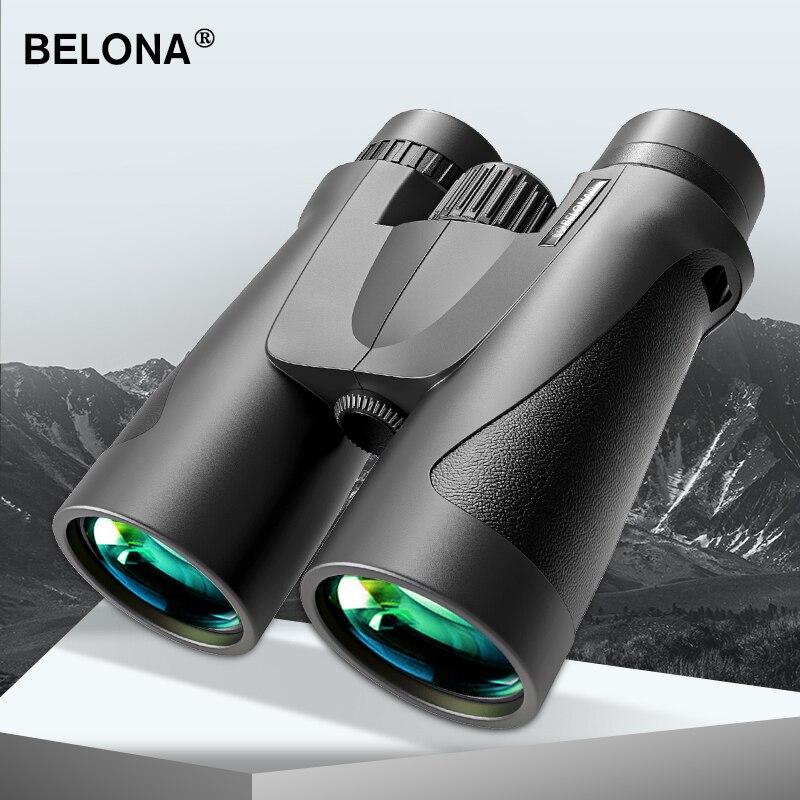 10x42 бинокль для охоты и туризма BAK4 Призма FMC покрытие HD Профессиональный Мощный Военный бинокль телескоп могли видеть при низкой светильник