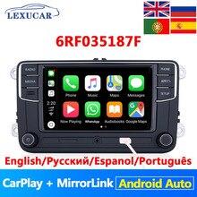 Lexucar RCD330 Plus รถวิทยุ Android Auto Carplay MirrorLink NONAME 6RF035187F R340G สำหรับ VW Tiguan Golf 5 6 MK5 MK6 passat Polo
