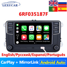 Lexucar RCD330 Plus Radio samochodowe Android Auto Carplay MirrorLink NONAME 6RF035187F R340G dla VW Tiguan Golf 5 6 MK5 MK6 Passat Polo