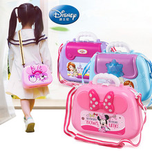 2019 Minnie Backpack Beauty Kitchen Doctor Tools Set Xmas Birthday Gift Kids Disney Pretend Play Toys for Boys Girls Over 3 Year