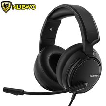 NUBWO N12 PS4 Gaming Headset Best PC Gamer casque Stereo Gaming Headphones with Mic for New Xbox One/Laptop/Nintendo Switch ihens5 computer usb 7 1 channel sound stereo gaming headphones gamer headset with mic led light for ps4 pc laptop xbox one gamer