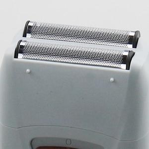 Image 3 - Erkek güçlü elektrikli tıraş makinesi sakal elektrikli tıraş makinesi şarj edilebilir folyo tıraş makinesi berber bitirme aracı saç tımar seti