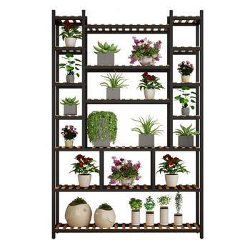 Jardín Estanteria soporte Flores Repisa Para Plantas de interior olla decoración de...