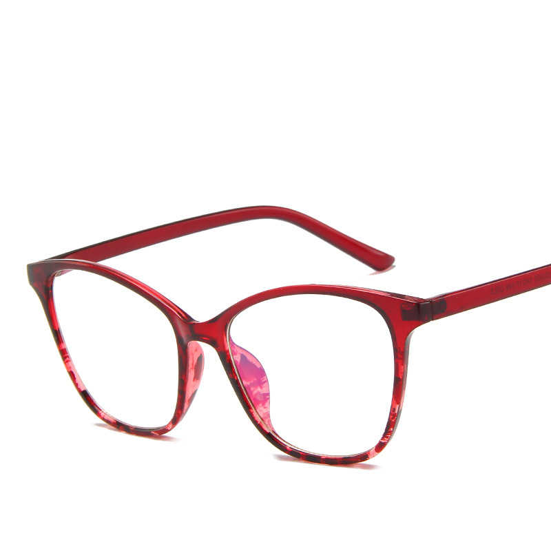 Anti luz azul óculos de armação de óculos de armação das mulheres óculos de computador óculos de óculos transparentes óculos de armação de óculos falso armação de oculos feminino oculos de grau feminino armação