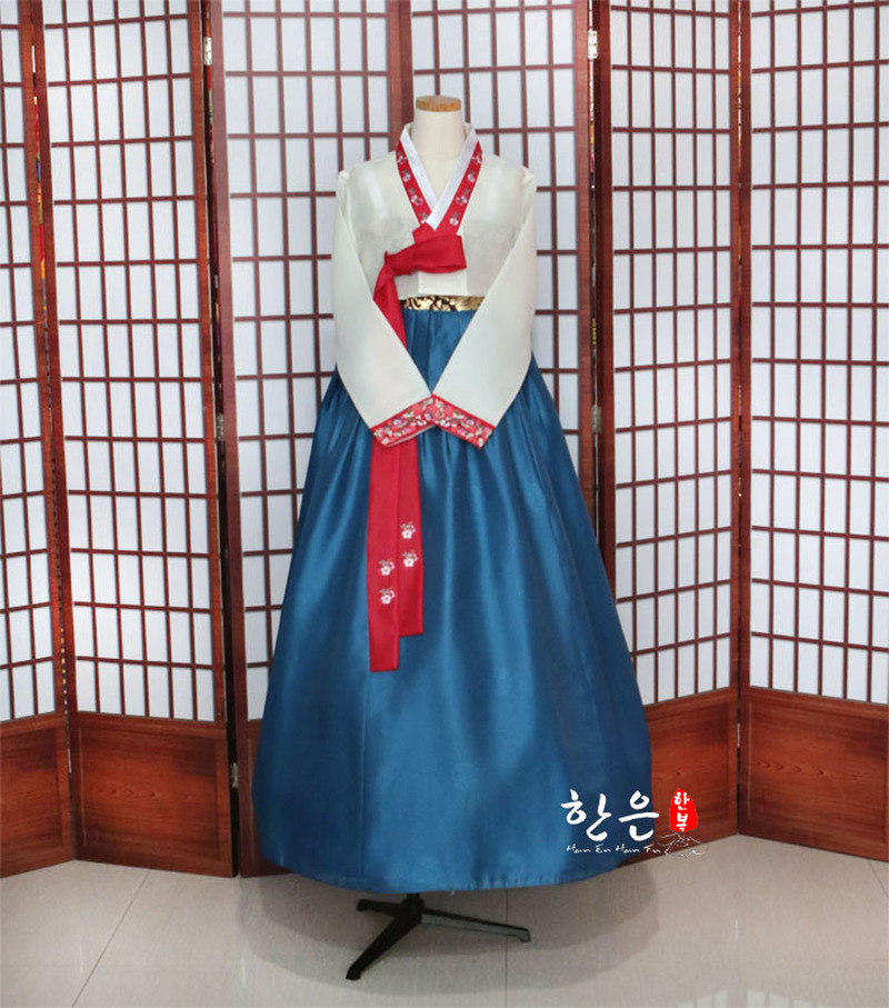 Korea Imported Fabric / New Improved Hanbok / Stage Hanbok / Fine Hanbok