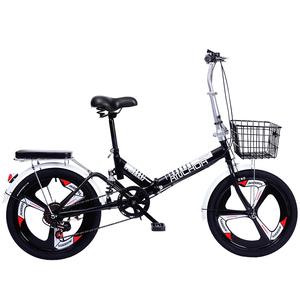 20 inch free installation folding bicycle adult ultra light speed portable portable adult 20 inch small bicycle(China)