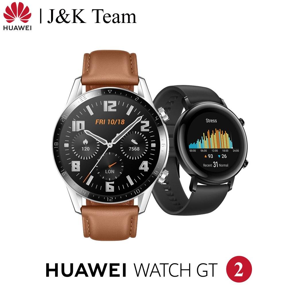 Huawei Watch GT 2 46 мм Смарт часы глобальная версия с кислородом крови Spo2 Bluetooth 5,1 Smartwatch телефонный звонок для Android iOS|Смарт-часы|   | АлиЭкспресс