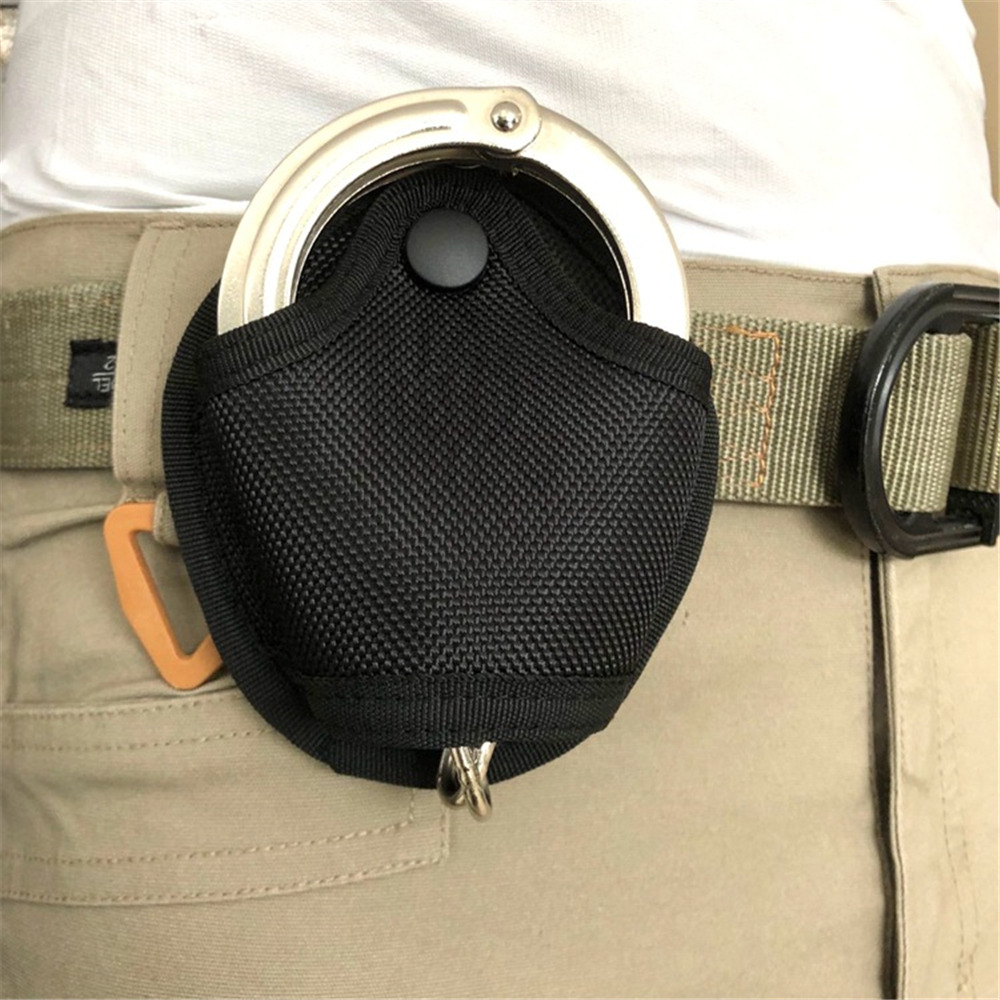 Waist Pockets Outdoor Tactical Handcuff Holder Bag Multi Functional Universal Quick Pull Bag  Handcuff Case Pouch For Hunting