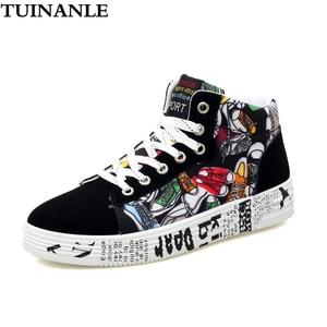 TUINANLE High Top White Sneake
