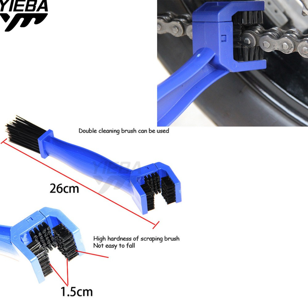 UNIVERSAL MOTORCYCLES BIKE BICYCLE CHAIN CLEAN BRAKE BRUSH CLEANING GEAR REMOVER CLEANER FOR  HONDA CYX700N DCT CTX 700/700N