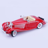 1:18 Scale Metal Diecasts Out of print 500K Classic vintage 1936 car Retro truck auto model Vehicles Model Toys For Kids car
