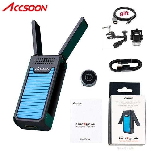 Accsoon CineEye Air sans fil vidéo Audio émetteur récepteur Transmission vidéo émetteur 100M vidéo Audio HDMI pour iPhone