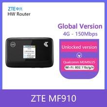 Zte mf910 lte 4g wifi roteador 4g wifi dongle hotspot móvel 3g 4g mifi roteador de bolso wi-fi roteador wifi 4g portátil mifi banda 28