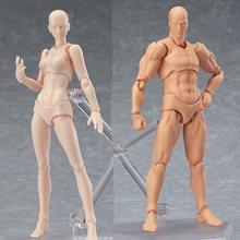 Кукла шарнирная Обнаженная с 15 подвижными суставами 13 см