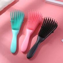 Massage Detangling Hair Brush Scalp Massage Hair Comb Detangling Brush for Curly Hair Brush Wet Curly Hairbrush Women Men Salon